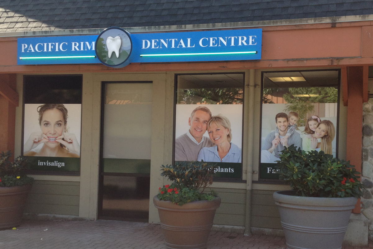 Pacific Rim Dental  Exterior Sign 02
