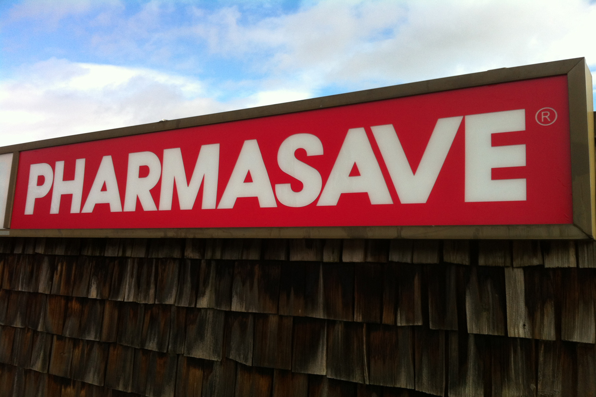Pharmasave Exterior Cabinet