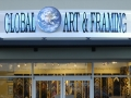 Global Art Framing Exterior Halo Neon