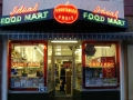 Ideal Food Mart Exterior Neon