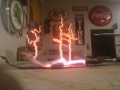 Neon Tree Sculpture